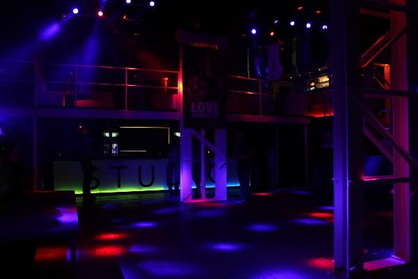 Green Area Dance Floor